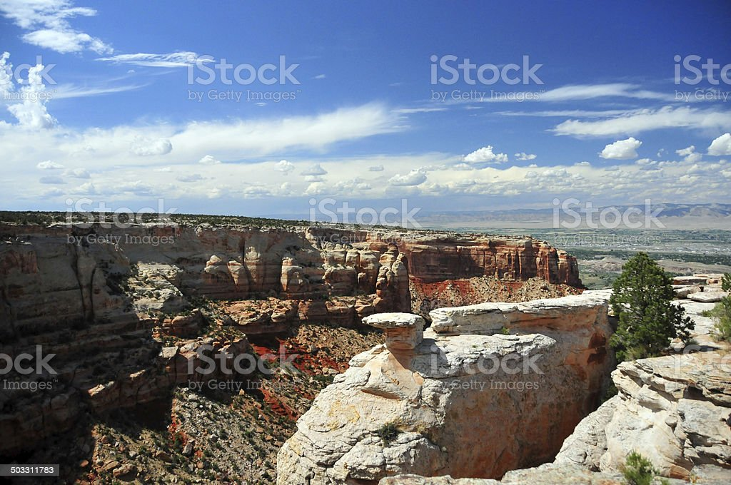 Colorado National Monument royalty-free stock photo