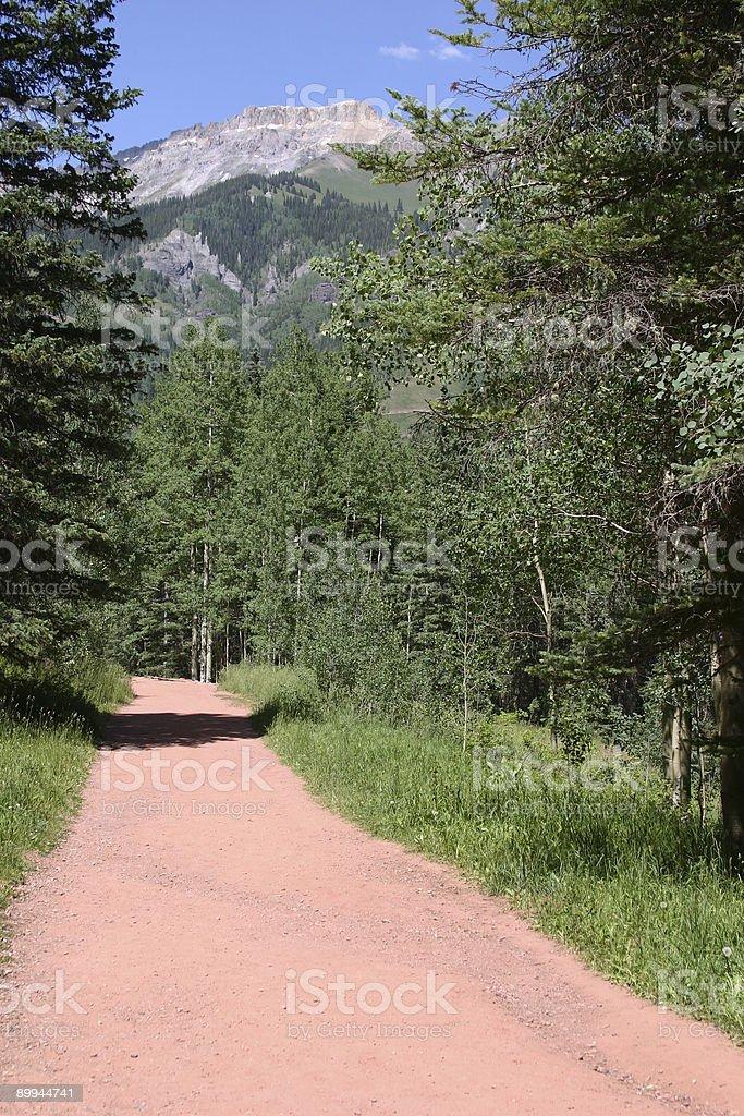 Colorado - Path stock photo