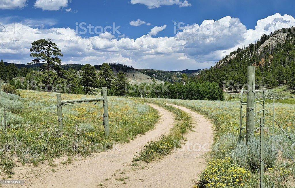 Colorado Ranch royalty-free stock photo