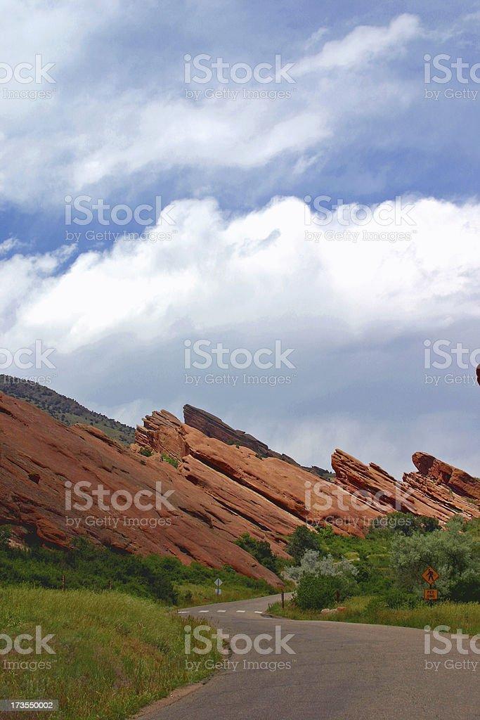 Colorado - Red Rocks royalty-free stock photo