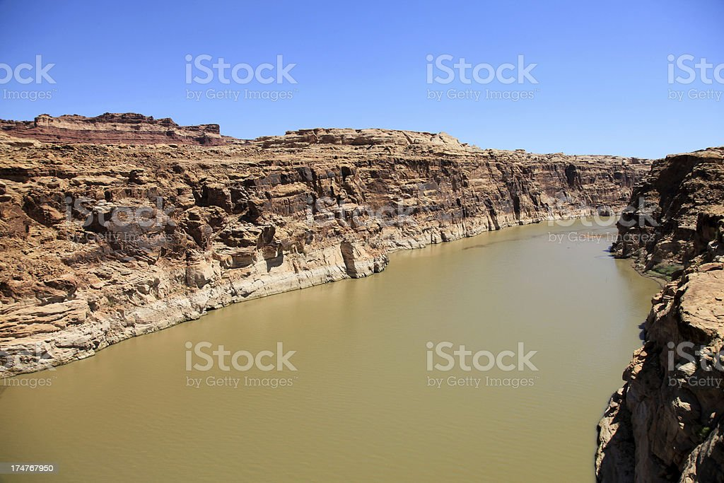 Colorado river royalty-free stock photo