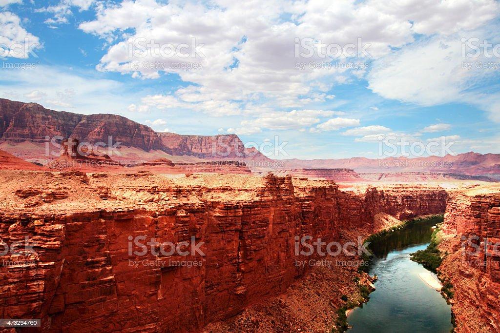 Colorado River, USA stock photo