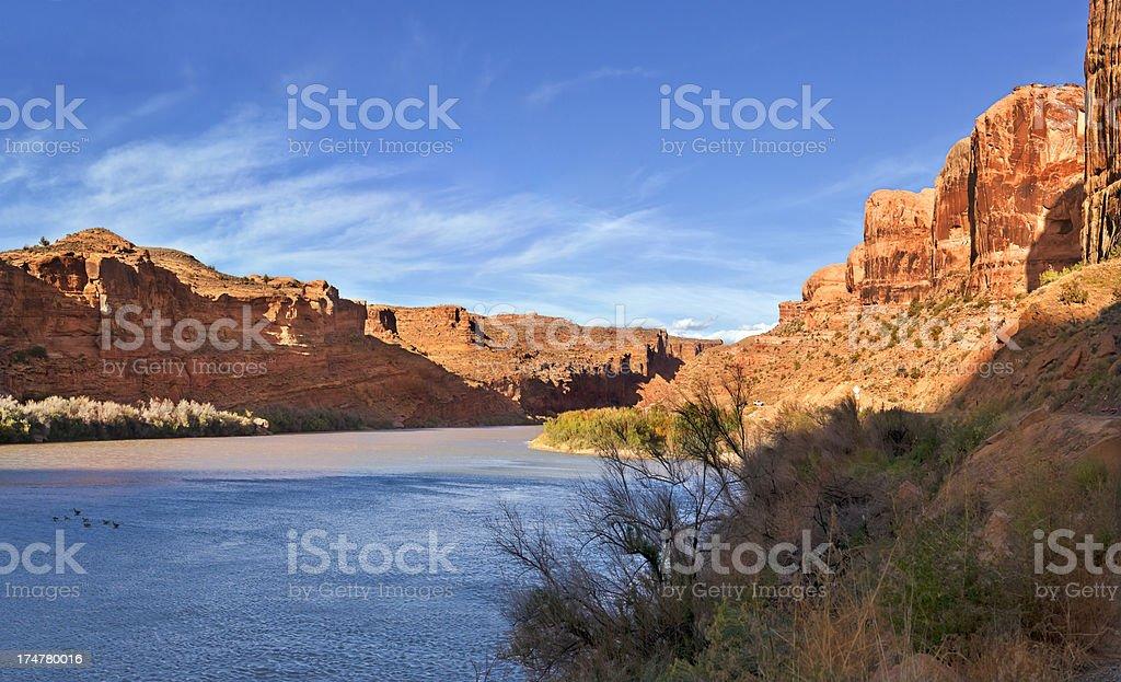 Colorado River Valley royalty-free stock photo