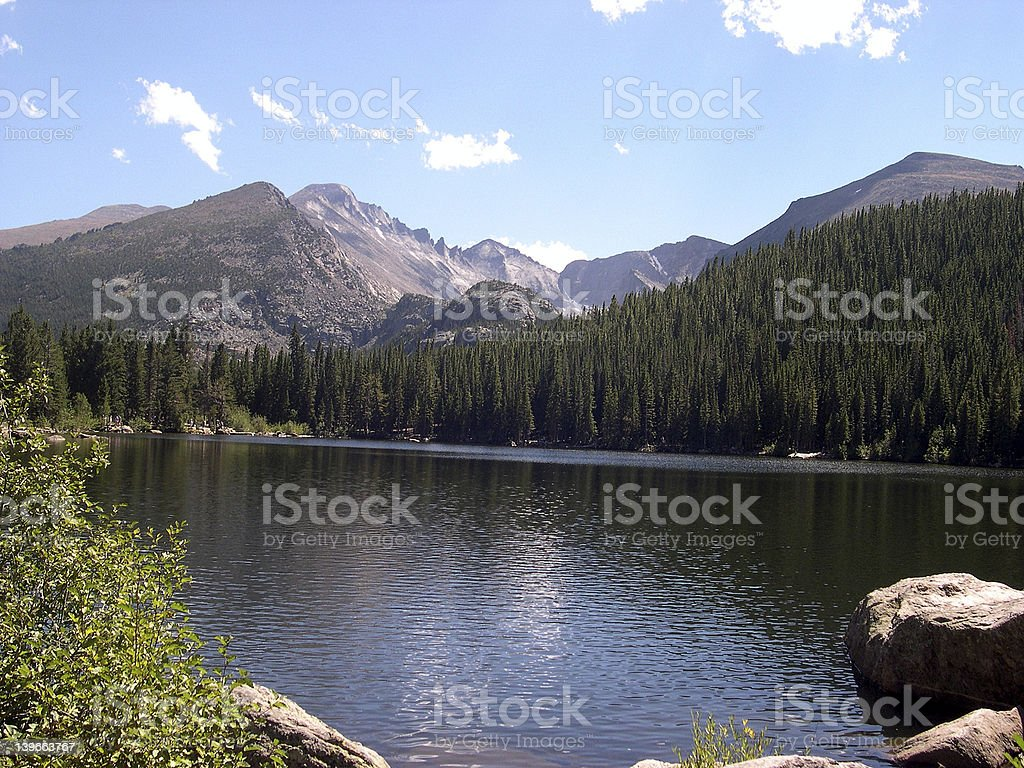 Colorado Rockies 2 royalty-free stock photo
