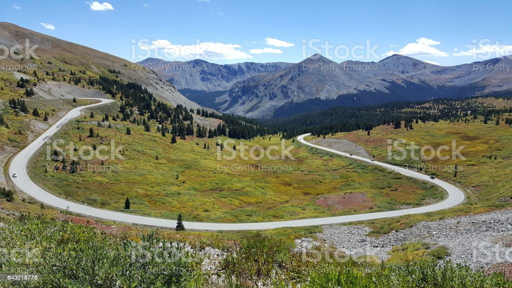 Colorado Rockies - Cottonwood Pass stock photo