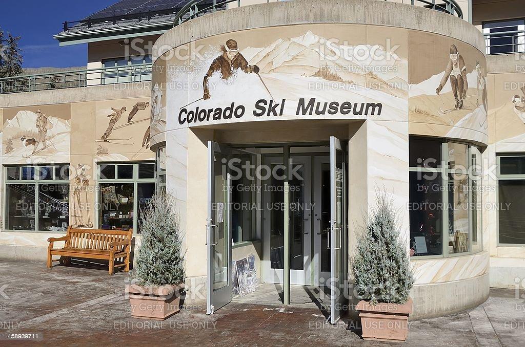 Colorado Ski Museum royalty-free stock photo