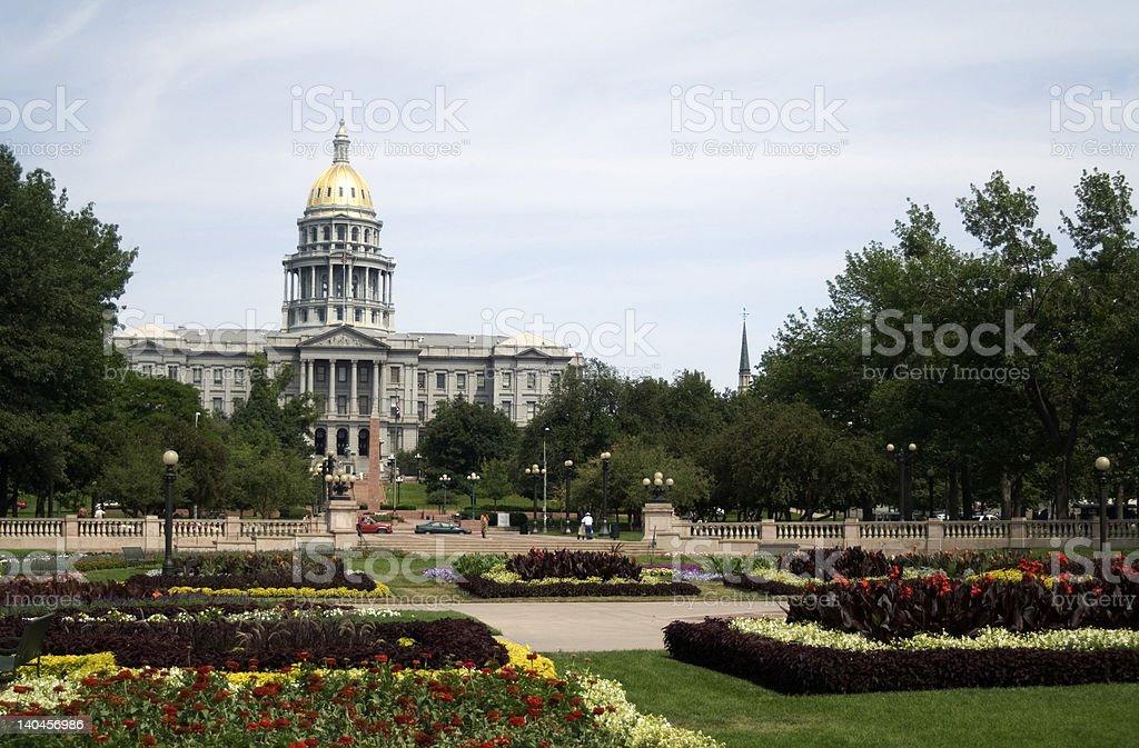 Colorado State Capitol, Denver stock photo