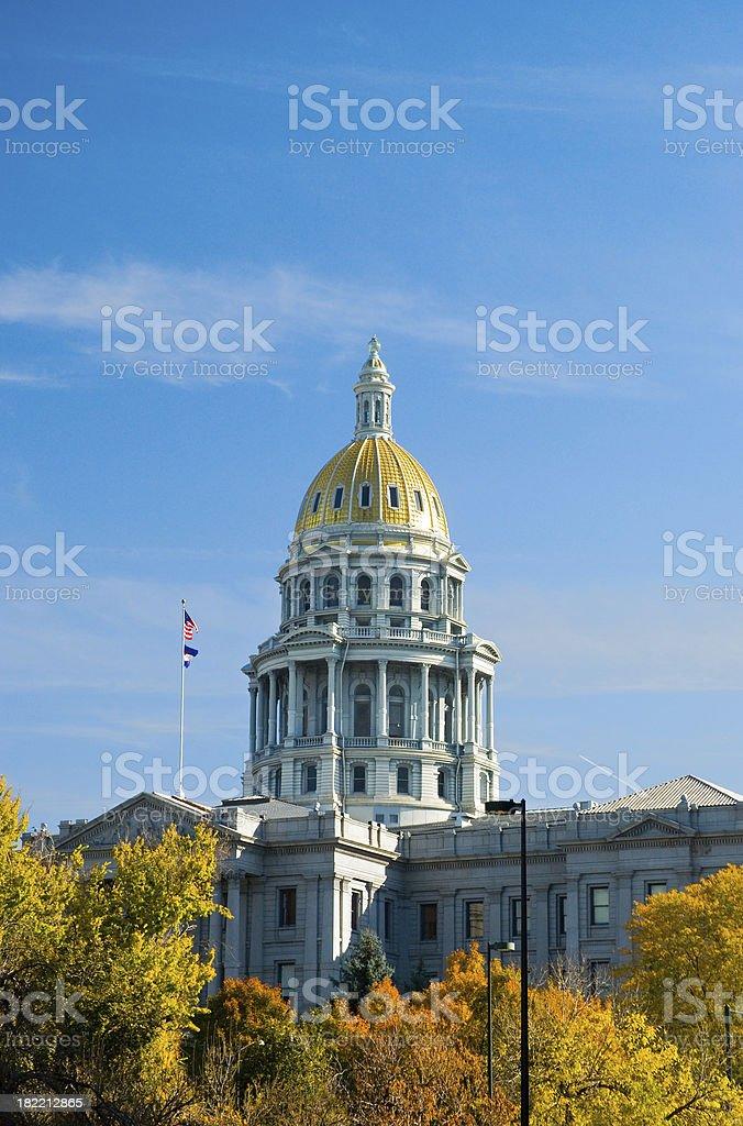Colorado State Capitol stock photo
