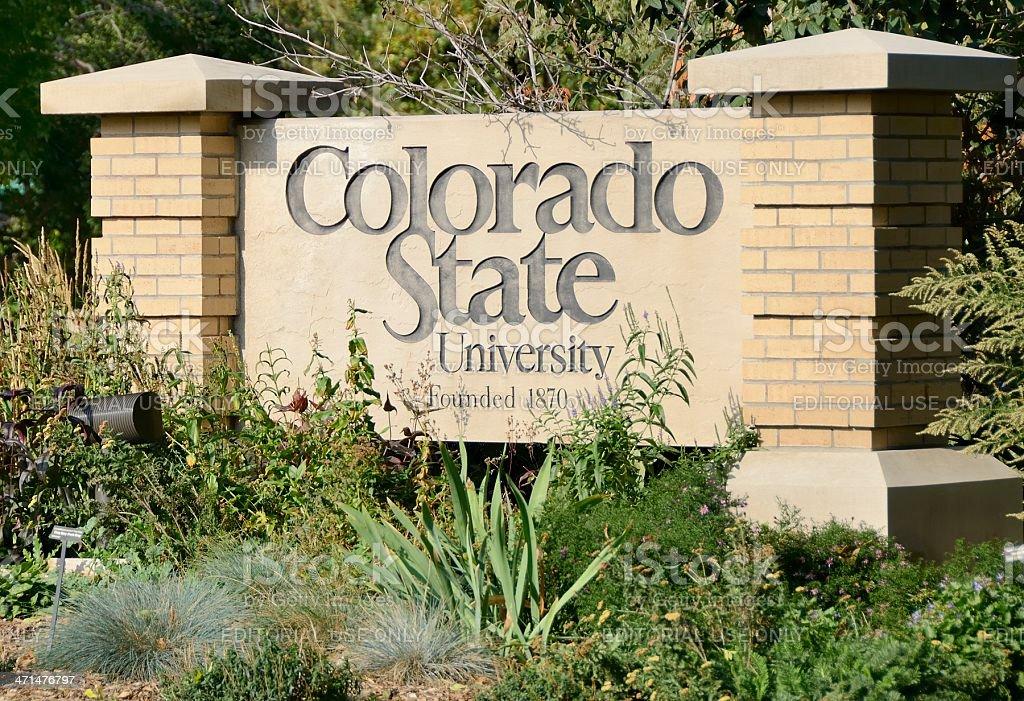 Colorado State University stock photo