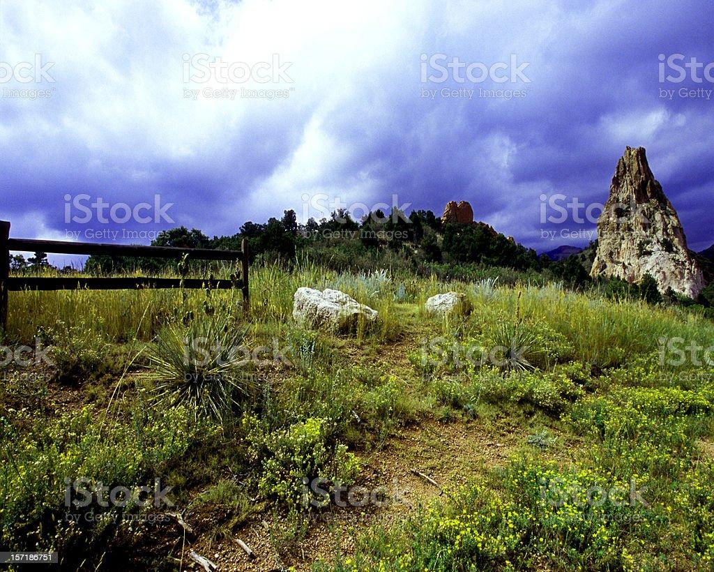 Colorado Storm royalty-free stock photo