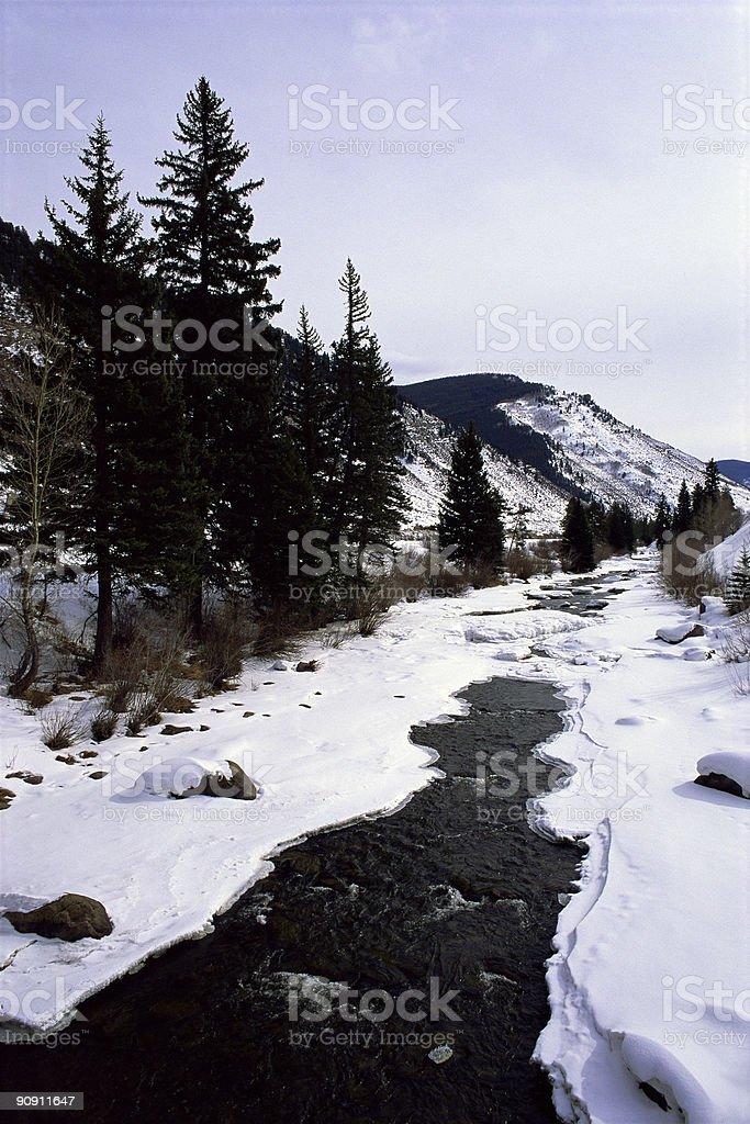 Le Colorado Stream photo libre de droits
