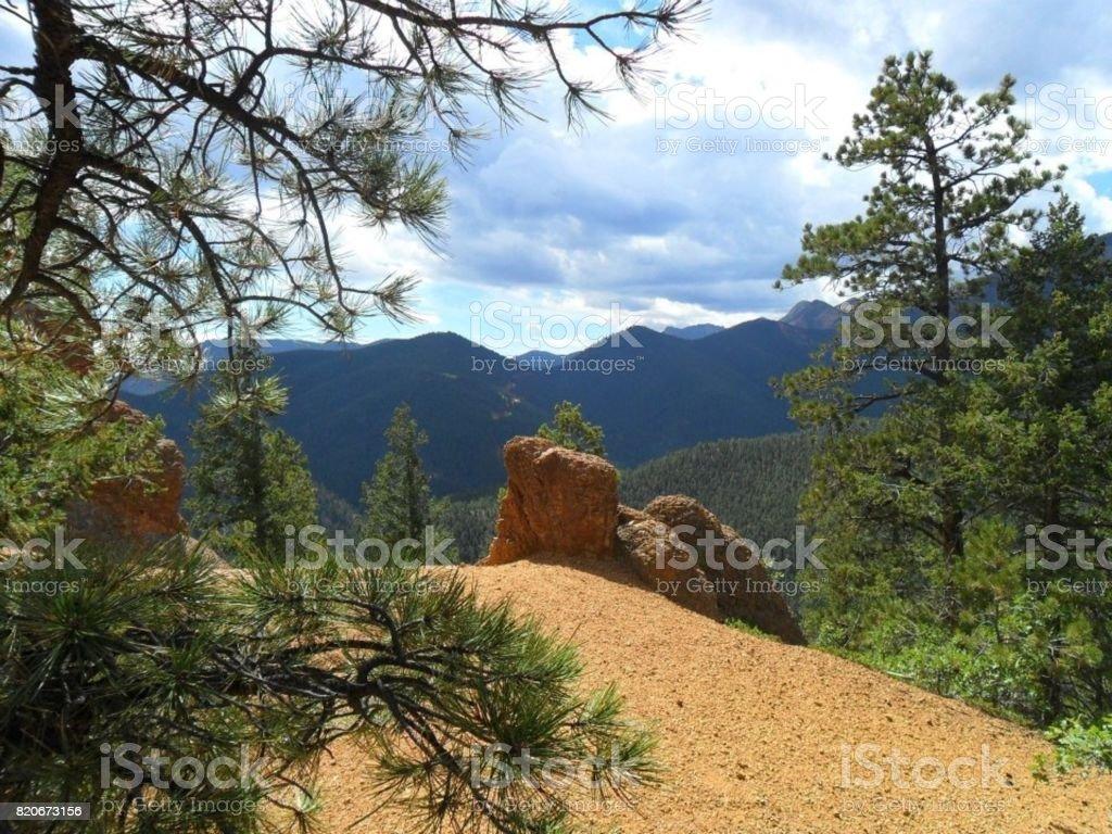 Colorado Views stock photo