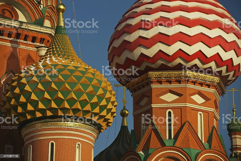 Colorated Domes stock photo