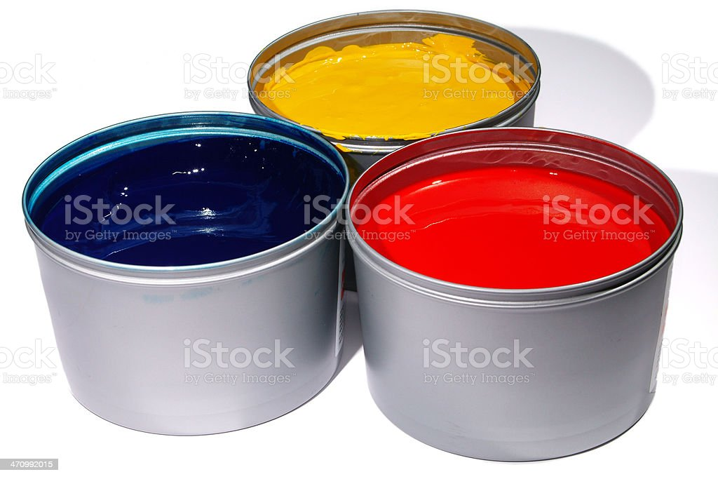 Colorcans_150 stock photo