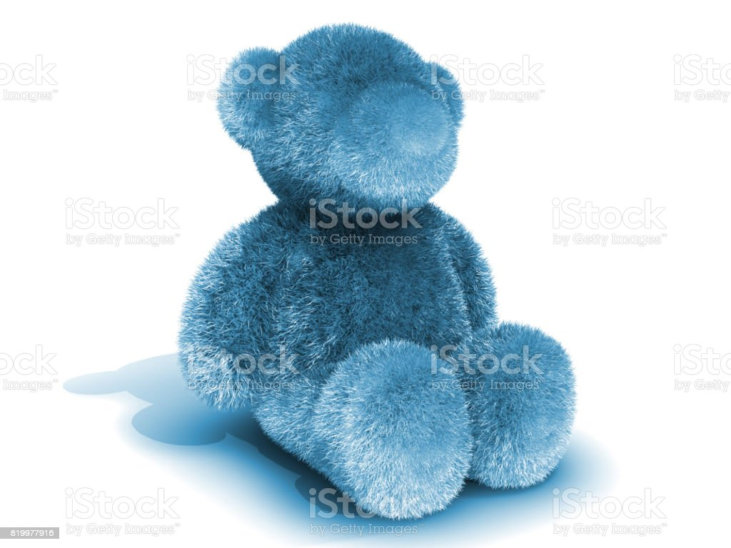 Colored Bear Toy stock photo