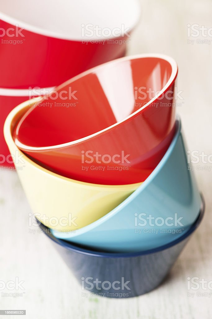 Colored Bowl royalty-free stock photo