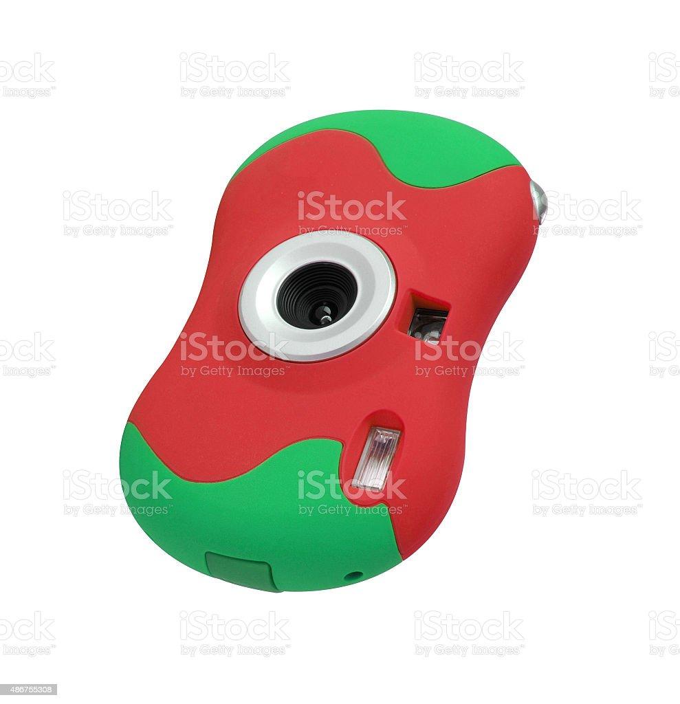 colored digital camera stock photo