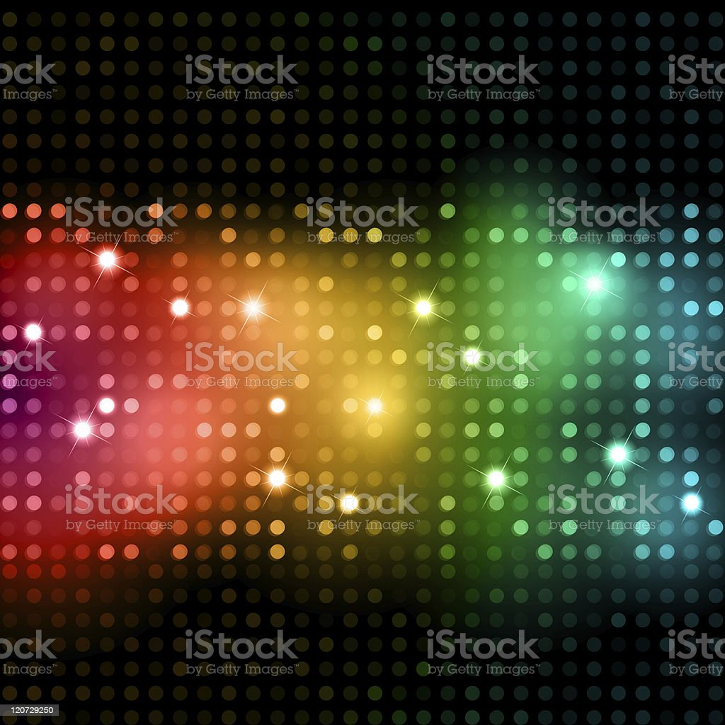 A colored disco light background royalty-free stock photo