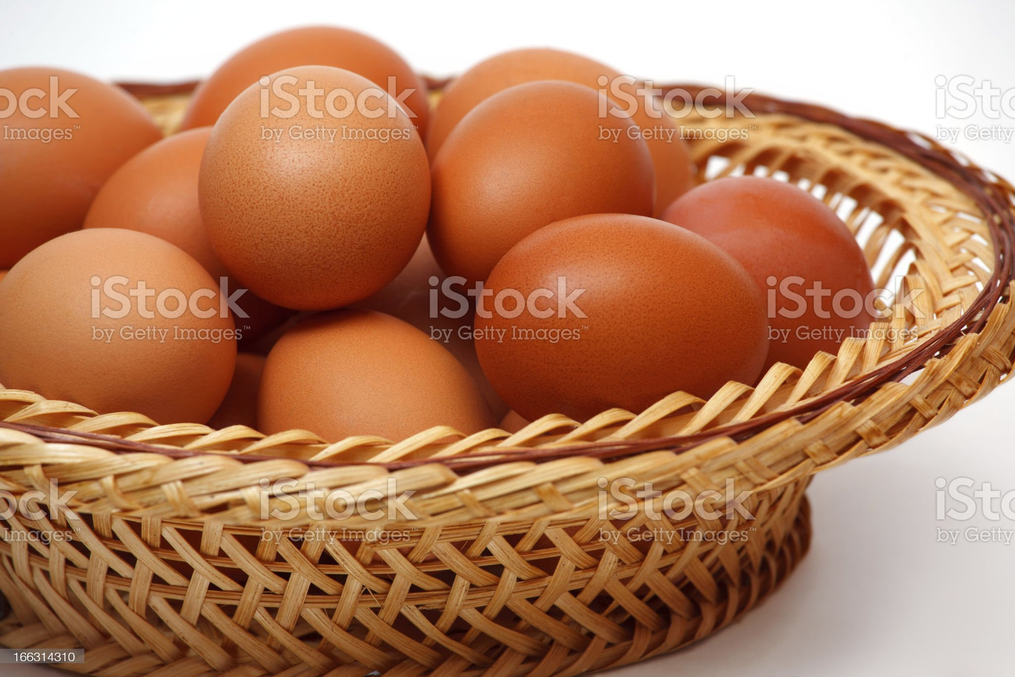Colored eggs royalty-free stock photo