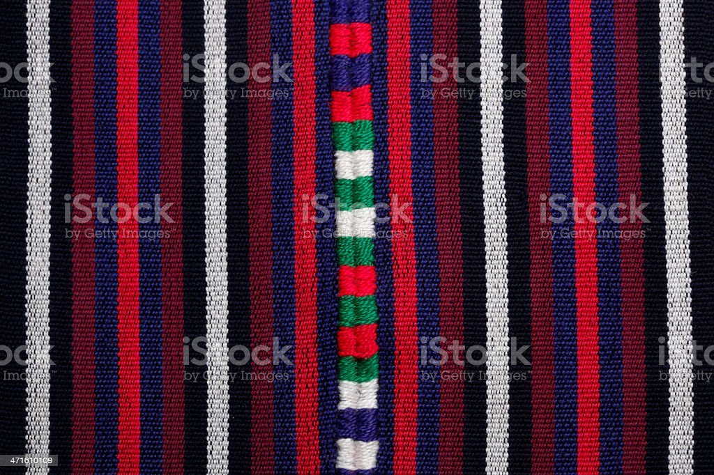 colored fabric stock photo