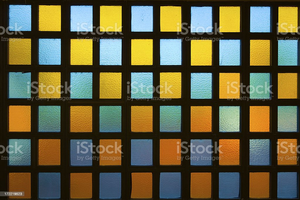 colored glass royalty-free stock photo
