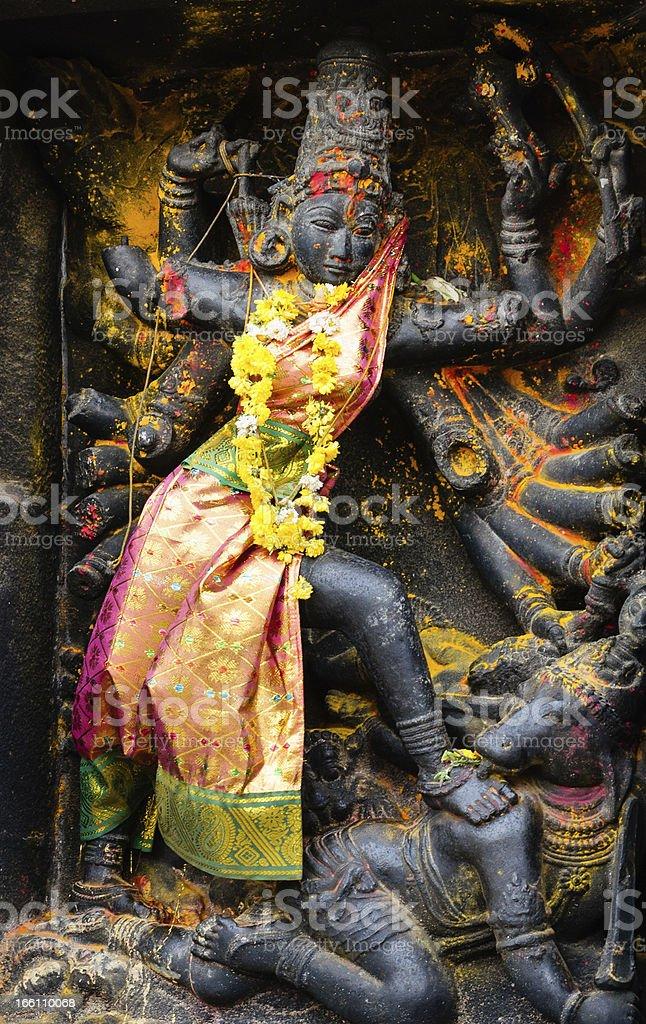 Colored Goddess stock photo