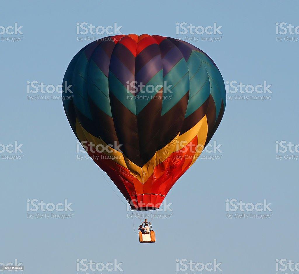 Colored hot air Balloon 1 stock photo