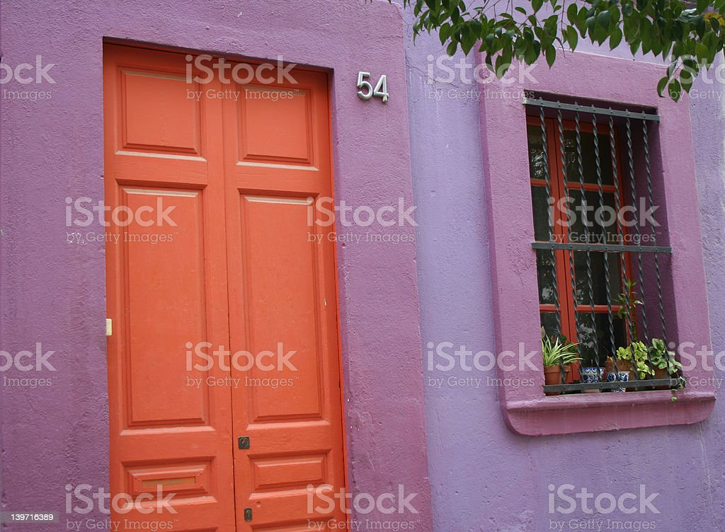 Colored House royalty-free stock photo