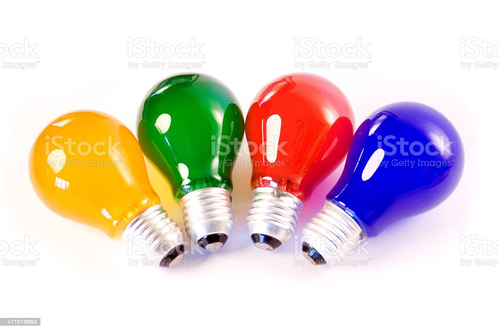 Colored Light Bulbs colored light bulbs stock photo 471015683 | istock
