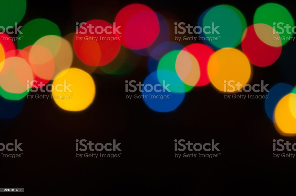 Colored lights stock photo