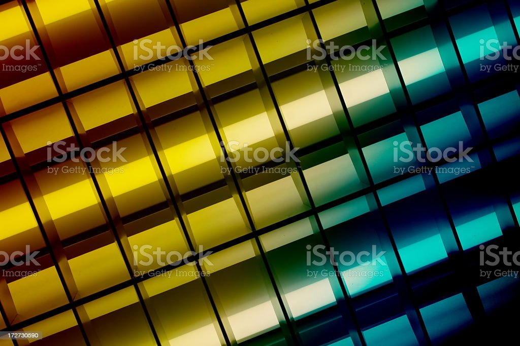 Colored Neon Lights royalty-free stock photo