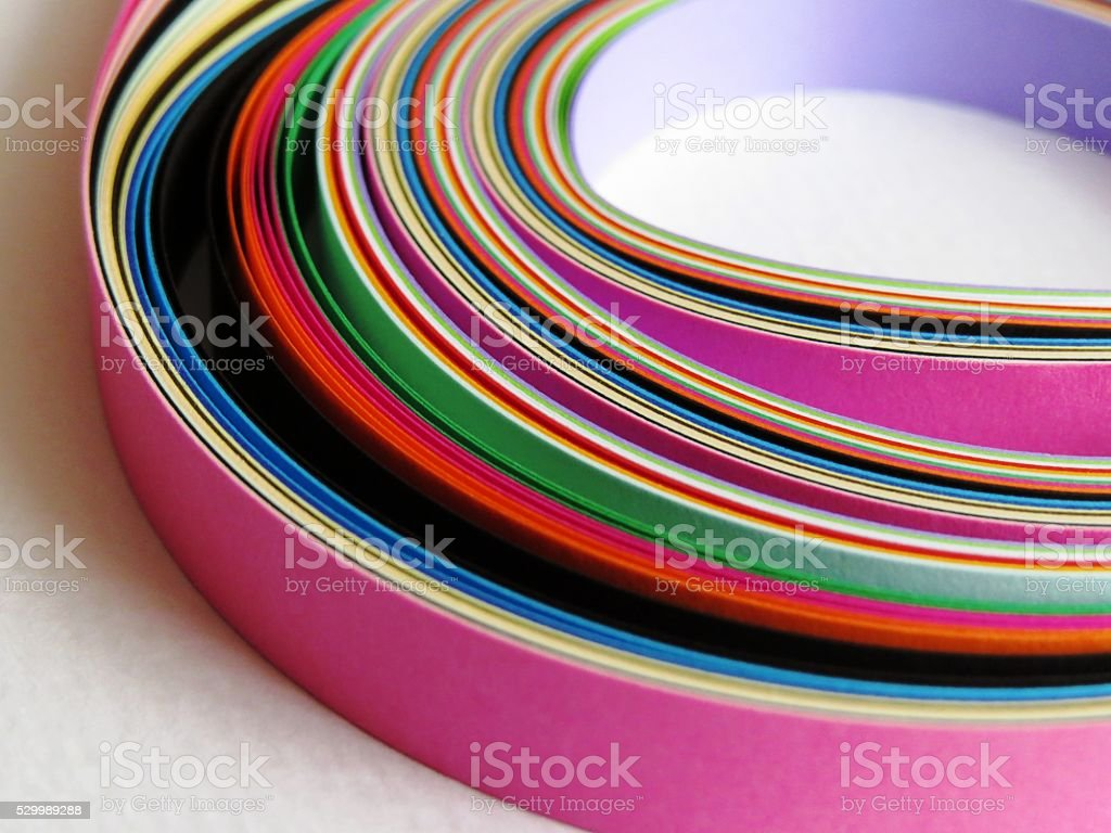 colored paper strips background royalty-free stock photo
