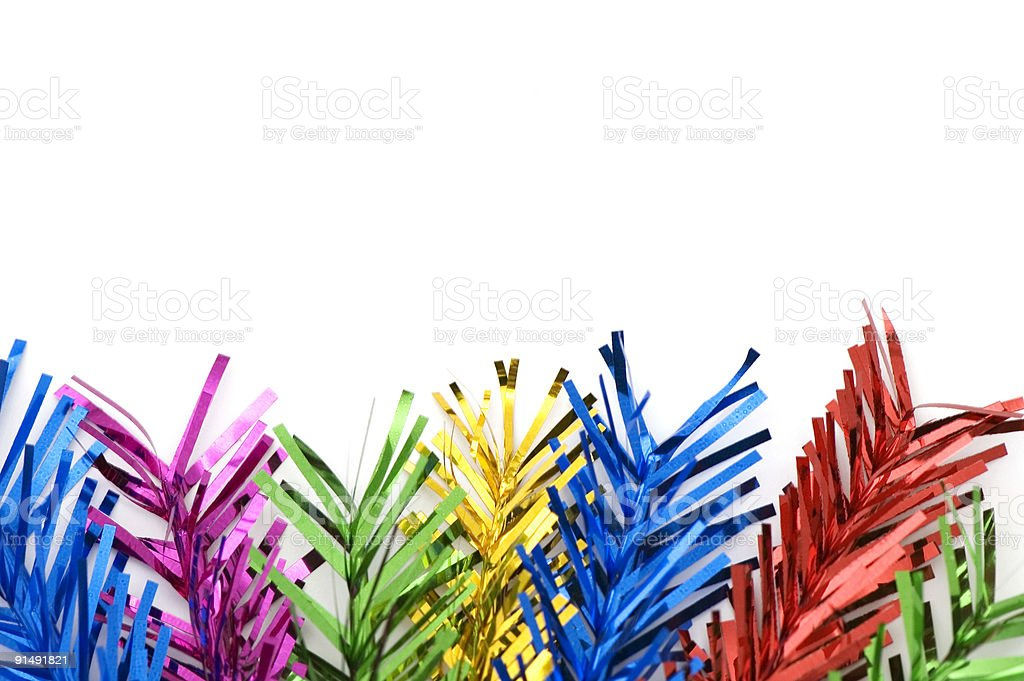Colored Party Sticks royalty-free stock photo