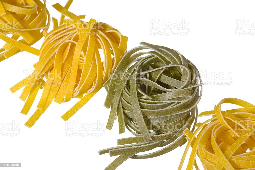 colored pasta royalty-free stock photo