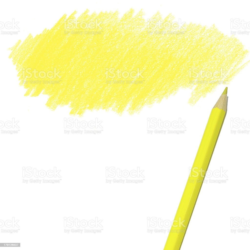 colored pencil drawing on a white background royalty-free stock photo