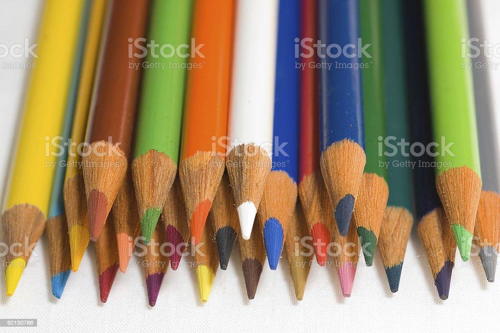 Colored Pencils 02 stock photo