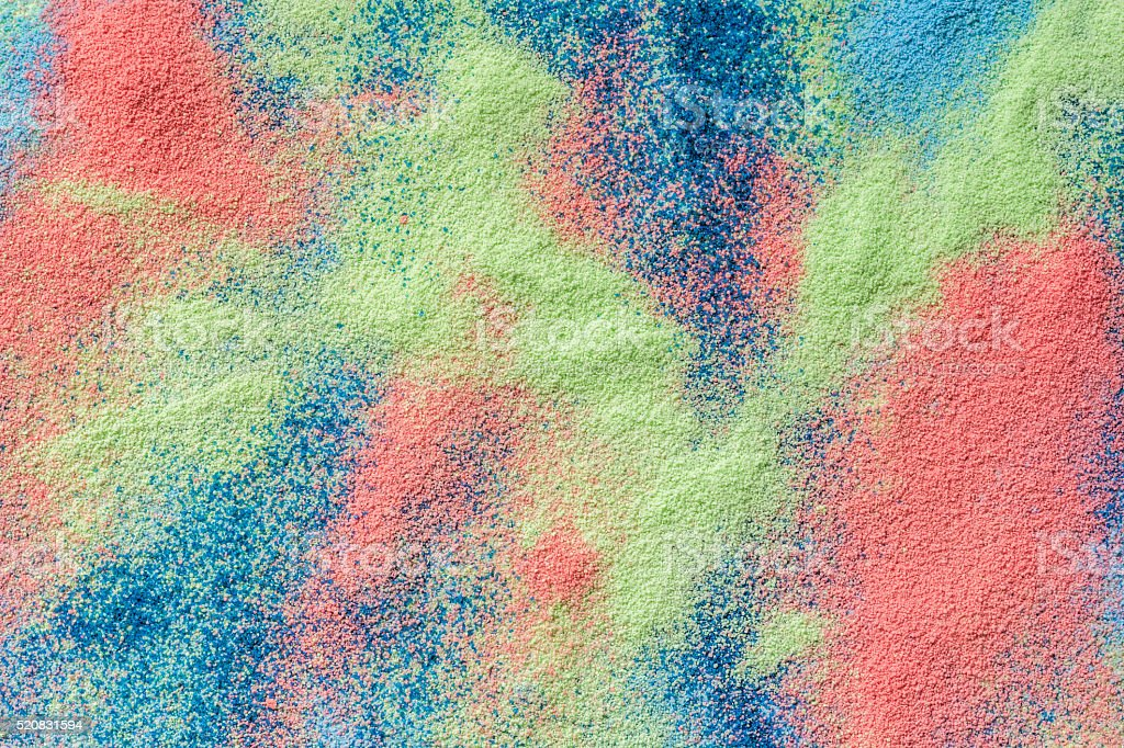 Colored sand background stock photo