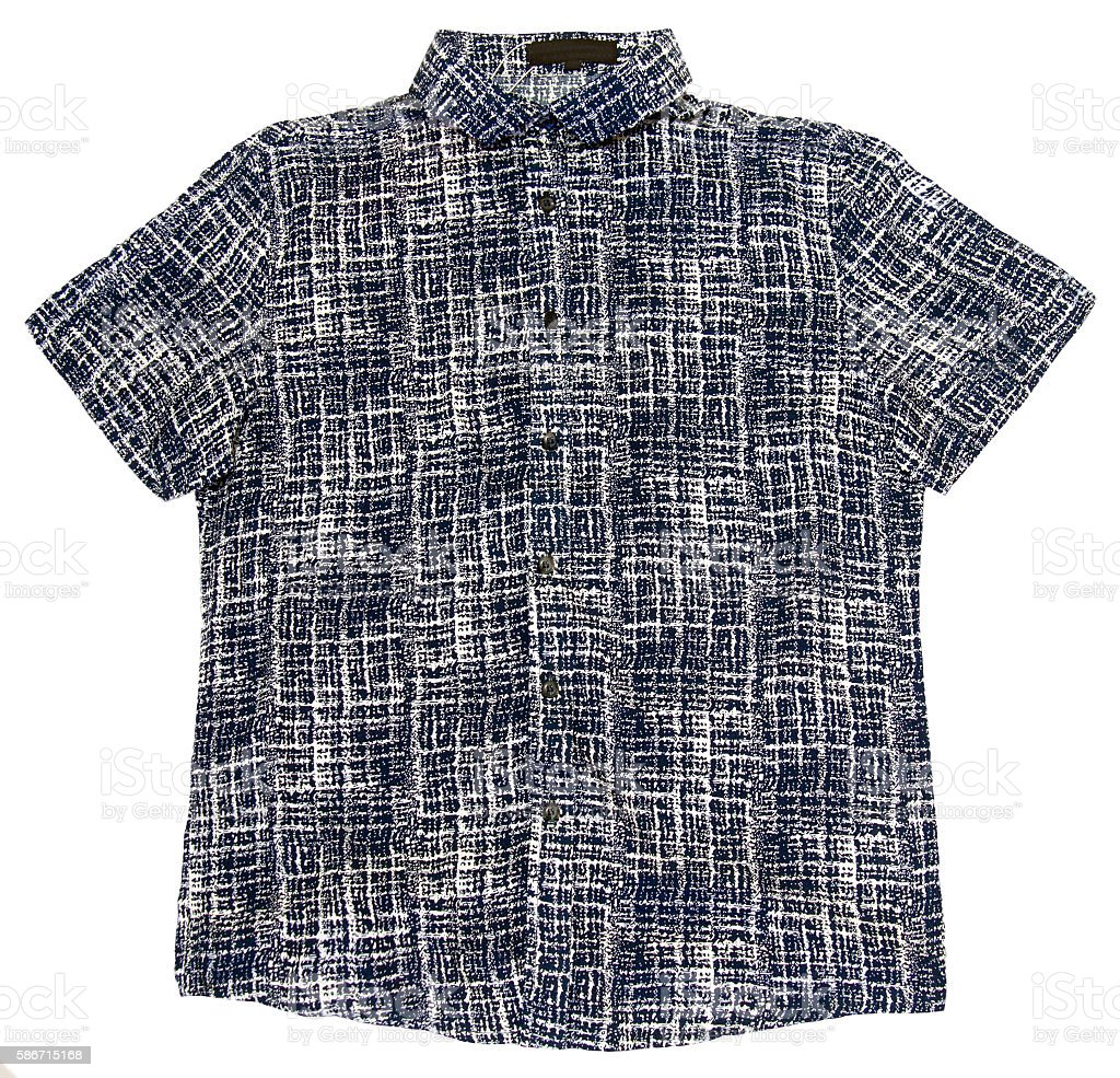 Colored shirt stock photo