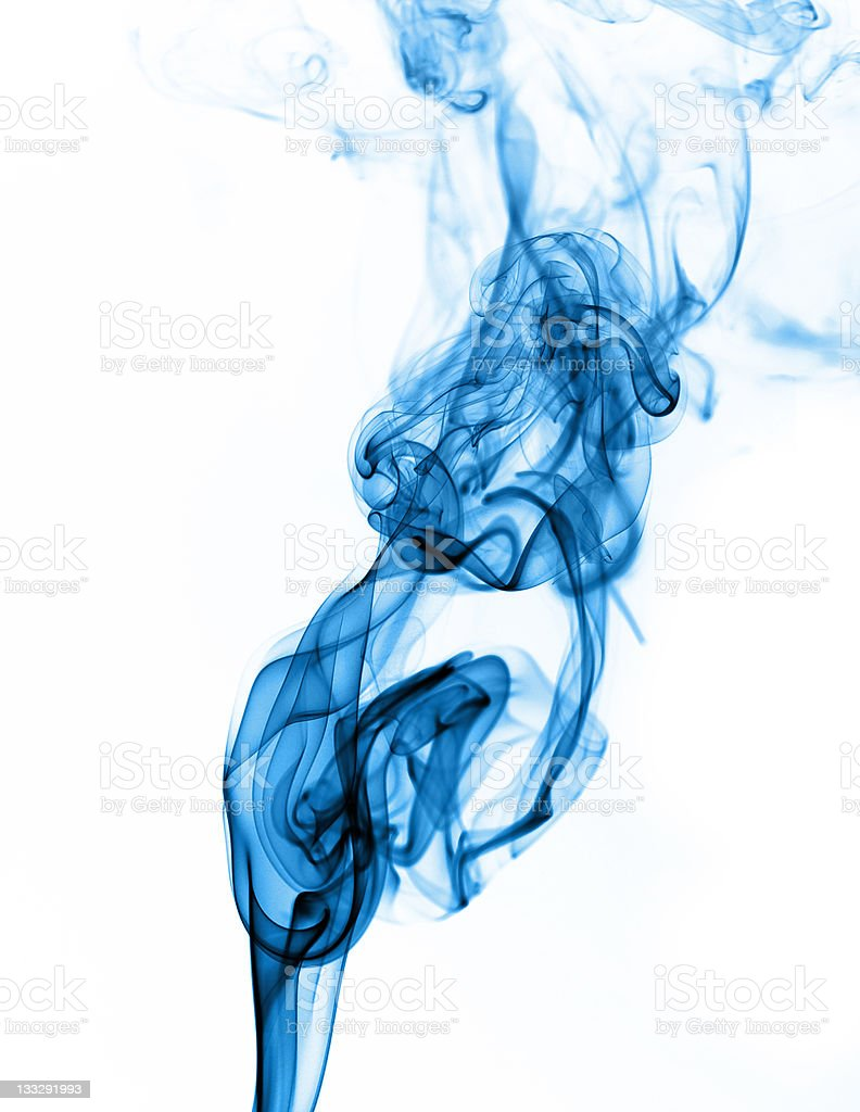 colored smoke isolated on white background royalty-free stock photo