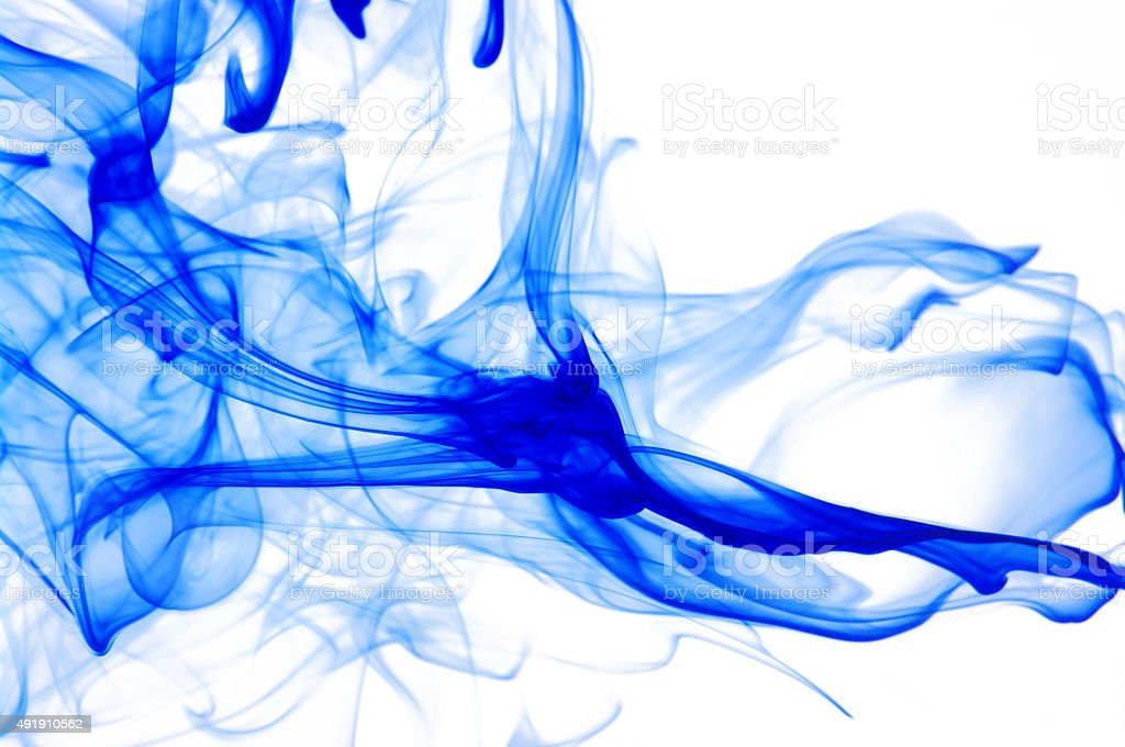 colored smoke stock photo