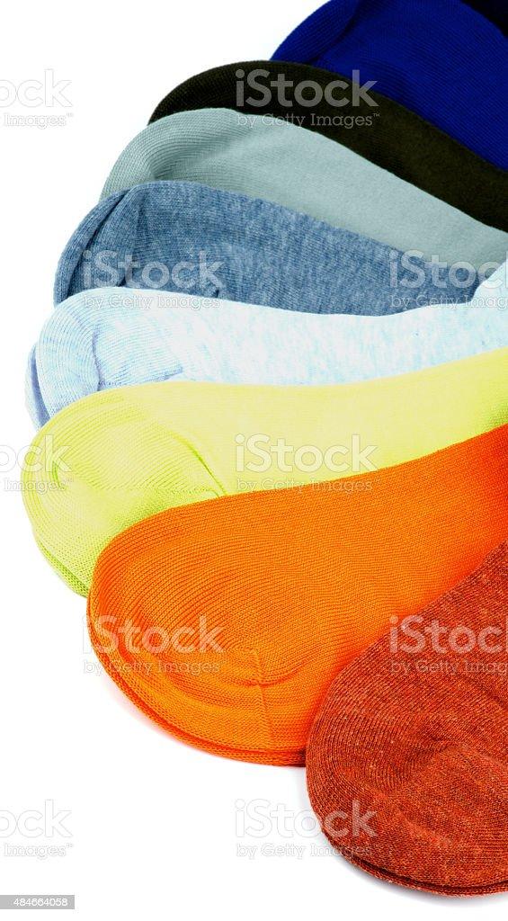 Colored Socks stock photo