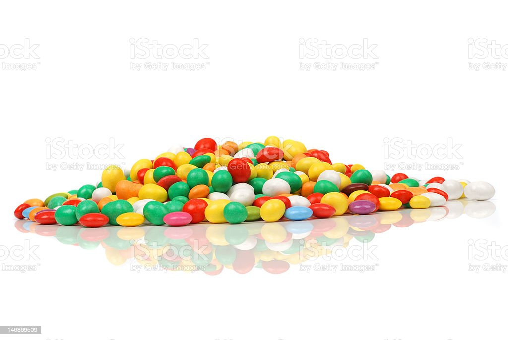 Colored sweet candies royalty-free stock photo