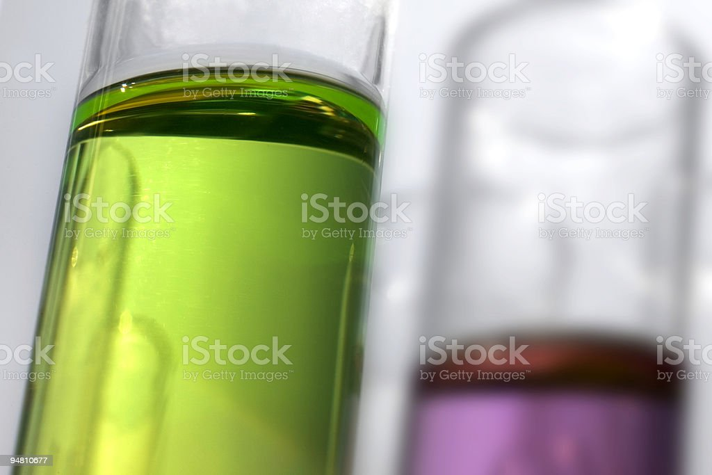 colored test tubes royalty-free stock photo