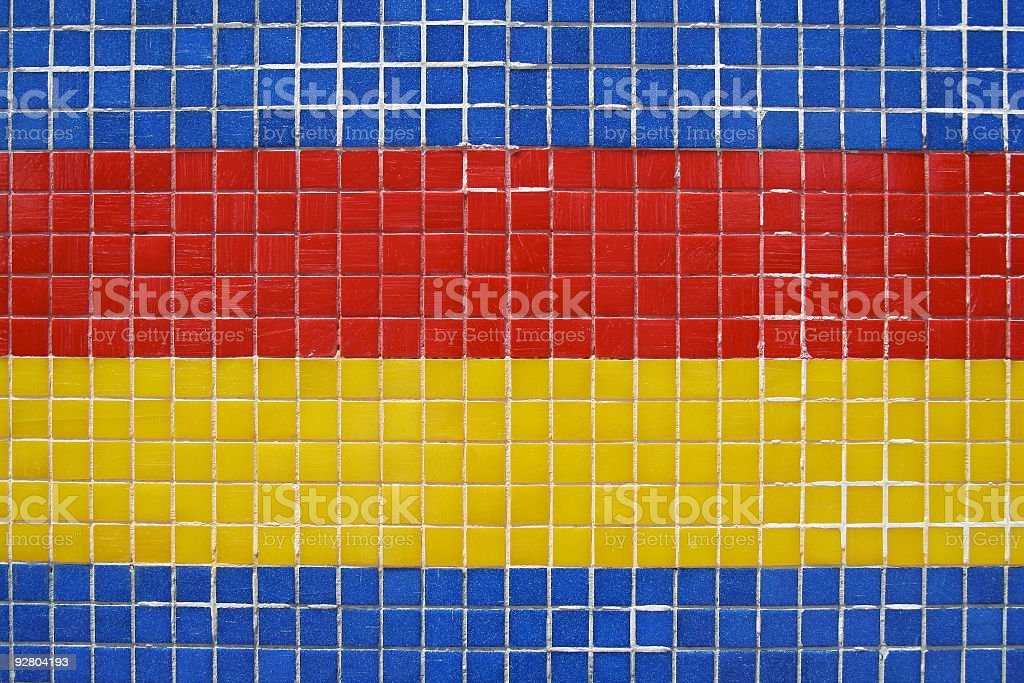 Colored tiles royalty-free stock photo