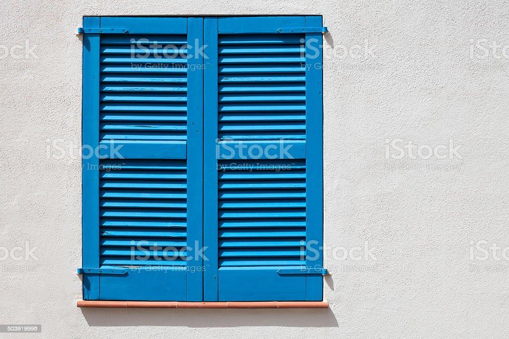 Colored window stock photo