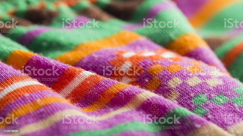 Colored Wool Cardigan royalty-free stock photo