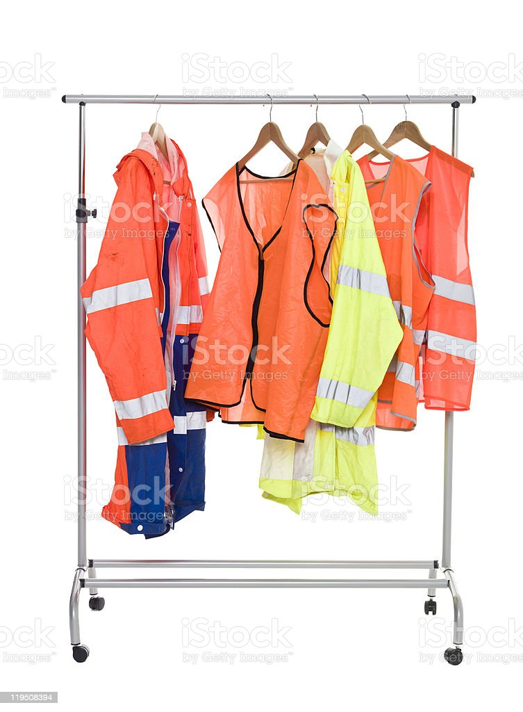 Colored Workwear royalty-free stock photo