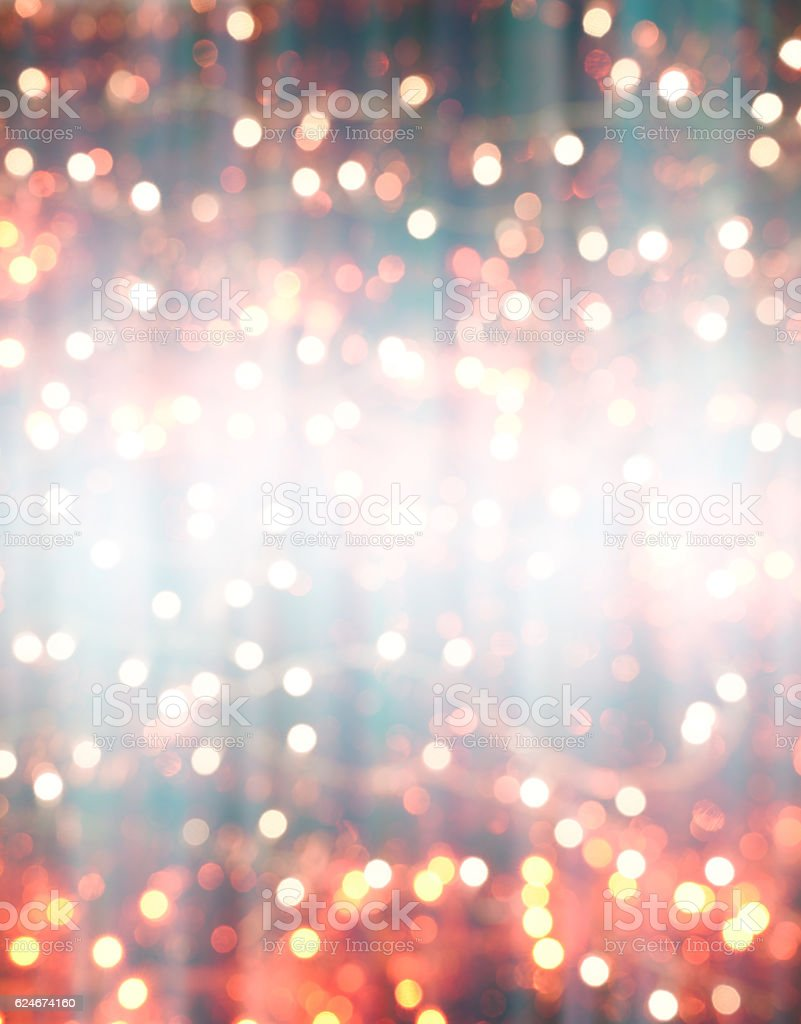colorful abstract background blur motion with bokeh light. stock photo