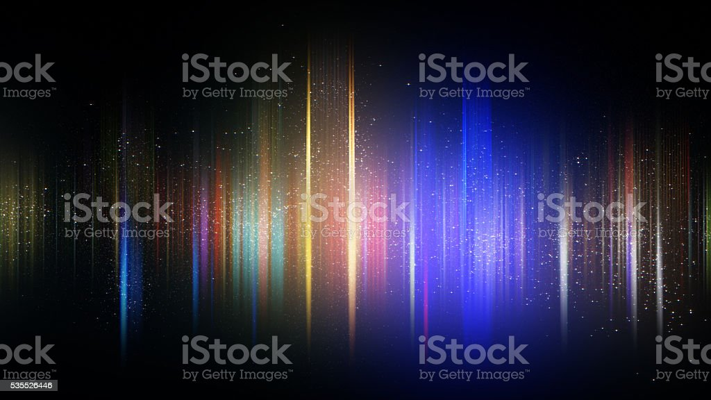 Colorful abstract background, Sound wave style with color particle star royalty-free stock photo