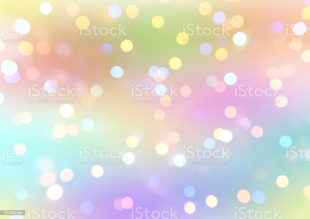 colorful abstract background with bokeh light stock photo